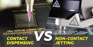 Jetting VS Contact Dispensing Header