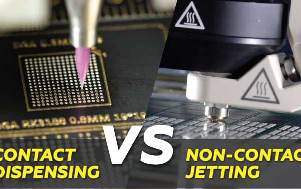 Jetting VS Contact Dispensing Header