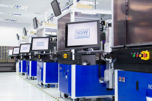NSW Equipment Production with Fluid Dispensing System
