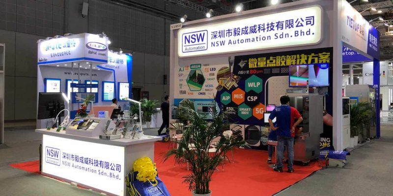 Productronica Shanghai 2020 NSW Booth Right View