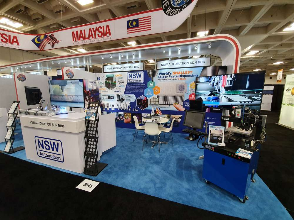 Semicon West 2019 NSW Booth